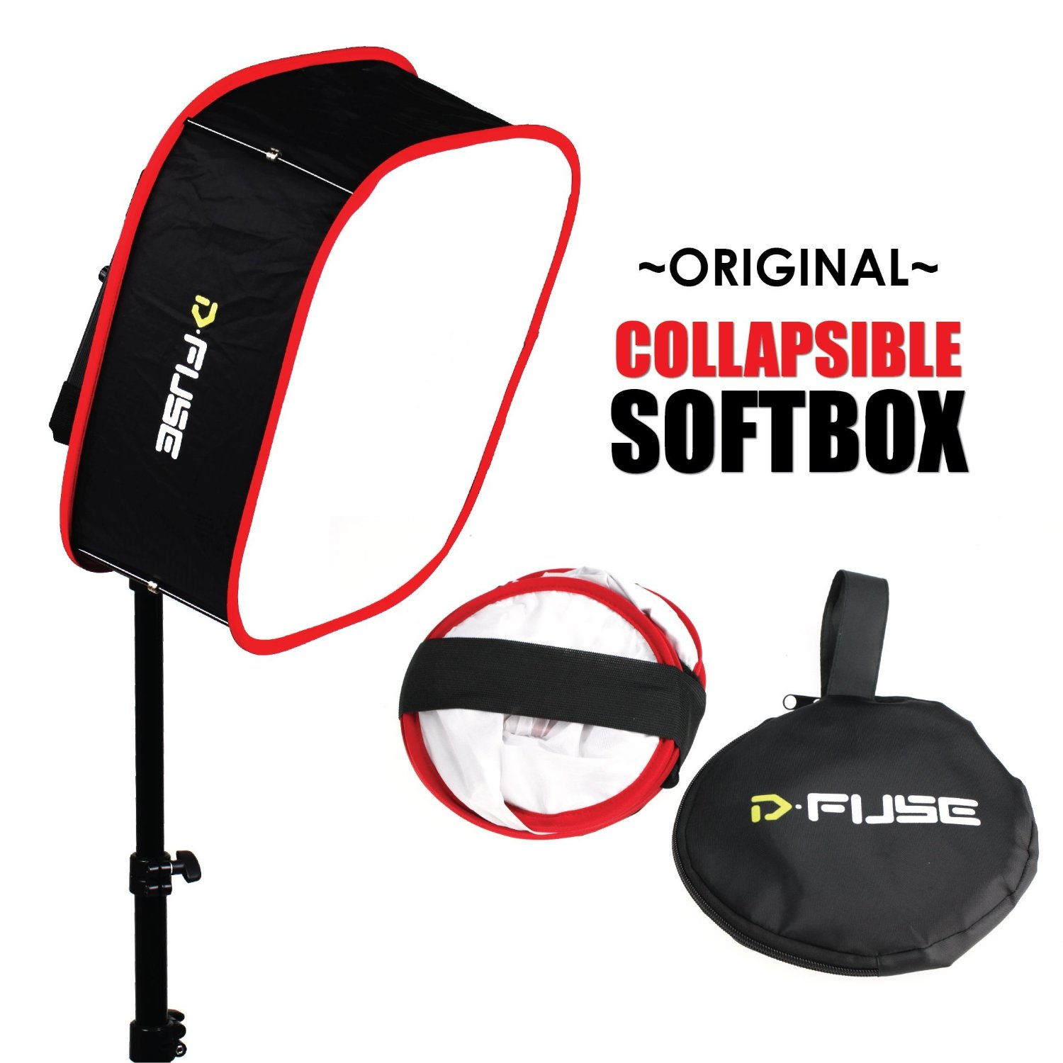 Kamerar Dfuse LED Light Panel Softbox Collapsible Diffuser